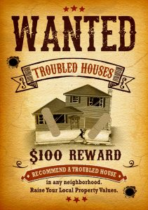 wanted cash for house